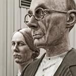 American Gothic redux - J. Seward Johnson / Sculptor
